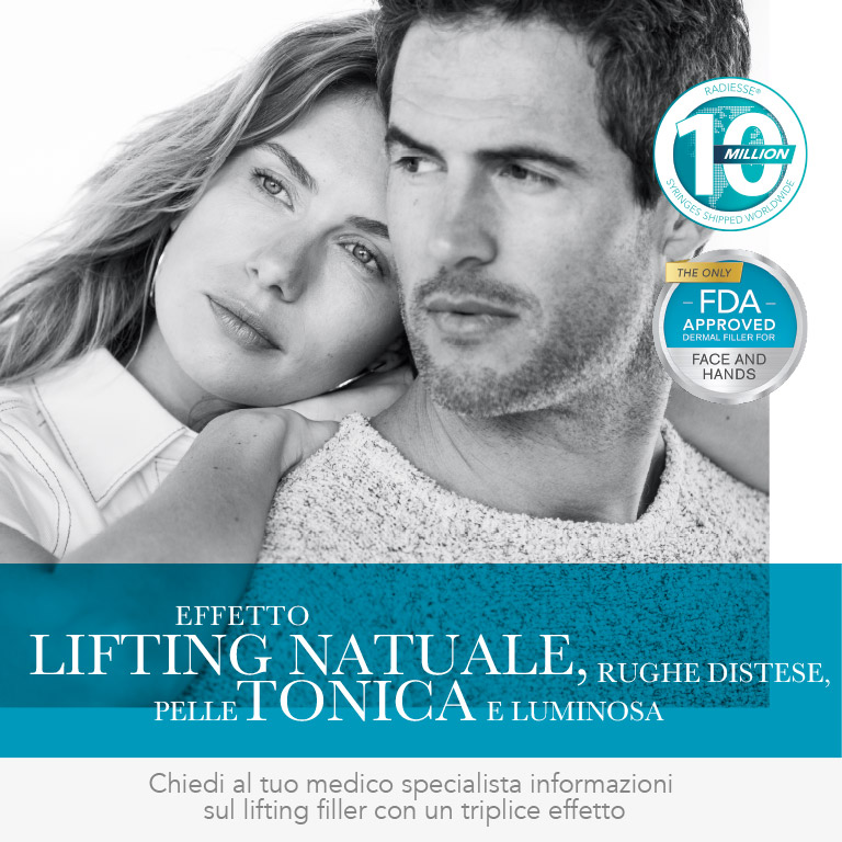 Effetto Lifting Naturale - Radiesse